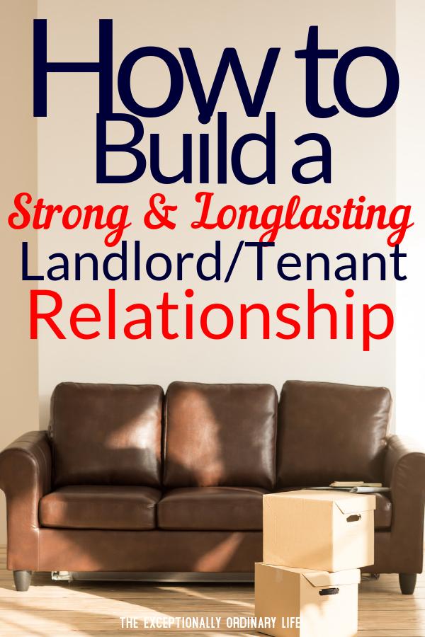 Landlord/tenant relationship