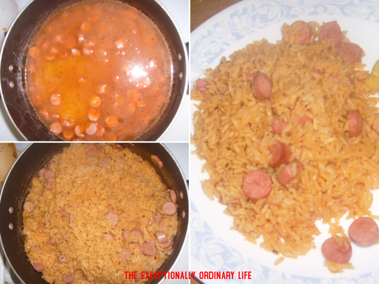 Rice with Vienna Sausages Recipe