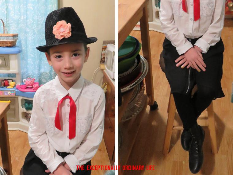 DIY Mary Poppins costume
