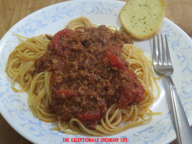 Quick and easy homemade spaghetti sauce recipe