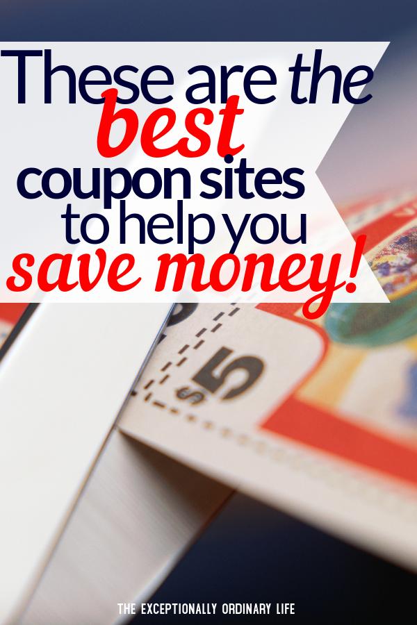 Best coupon sites