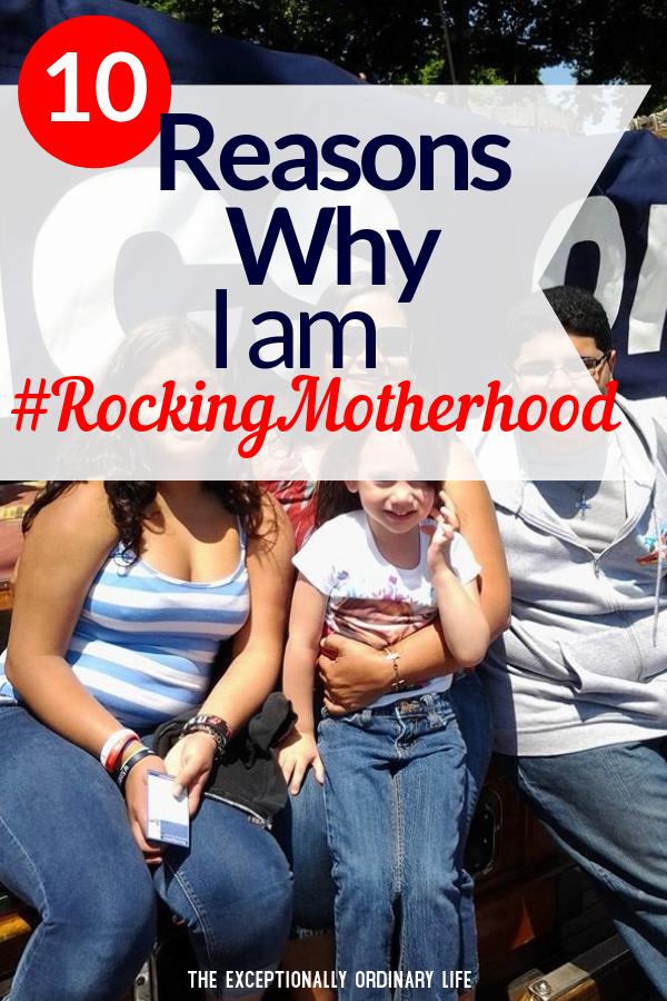 Rocking motherhood challenge
