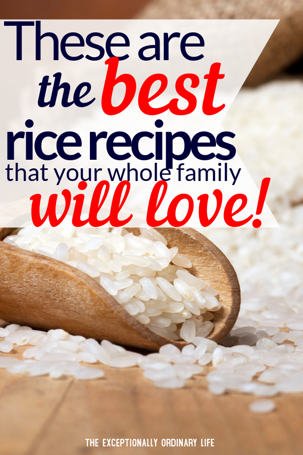 Best rice recipes