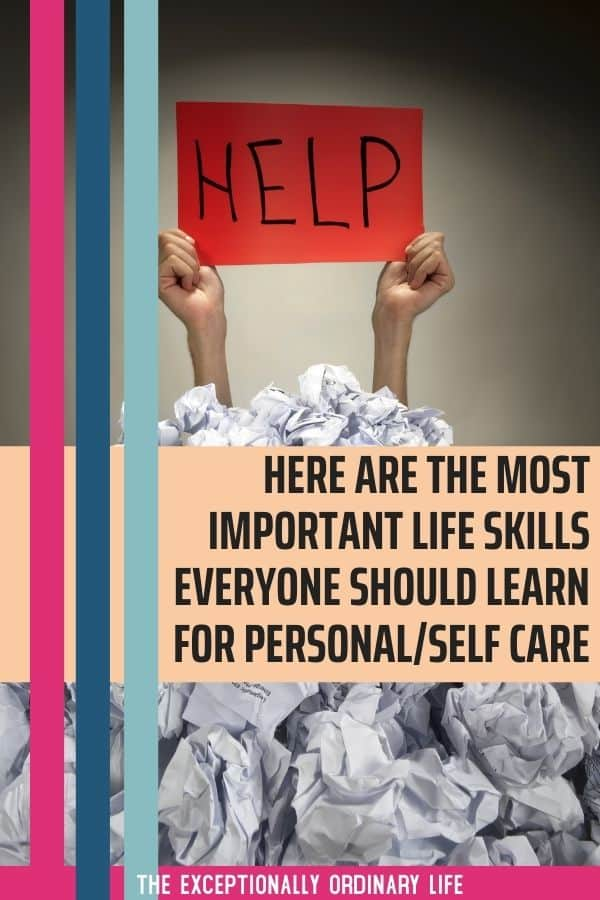 Important self care skills everyone should learn