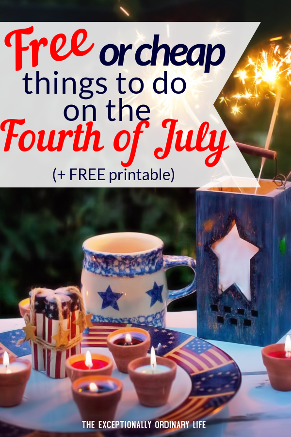 Things to do on the Fourth of July